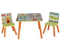 "Liberty House Toys-TF 12212,31 (4808 cm per bambini Safari "", Set Tavolo e sedia"