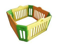 Baby Vivo Piccolo Box per Bambini Sicurezza Barriera Pieghevole Recinto Plastica Pacchetto principale Estensibile Quadrangolare