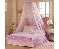cheers-online rotonda poliestere tenda a cupola letto a baldacchino rete principessa zanzariera