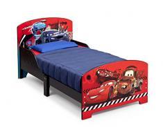 Delta Children BB86975CR - Lettino cars per bambini, 143 x 77 x 71 cm, Rosso