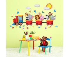 Decorazione per camerette acquista decorazioni per for Carta da parati bimbi