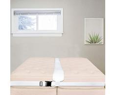 Wood.L Riempitore di spacco del letto, kit materasso a doppio connettore a ponte del letto per trasformare letti gemelli nella riempitrice del materasso a connettore per garantire la qualità gorgeous