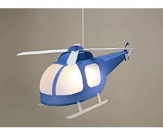 R&M Coudert - Lampada a sospensione per bambini, colore: Blu