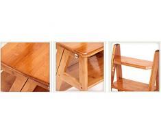 Sgabello per scale zcjb sgabello ladder in legno massello sgabello