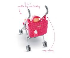Corolle - Clm96 - Accessori Doll - Passeggino Borsa Cherry