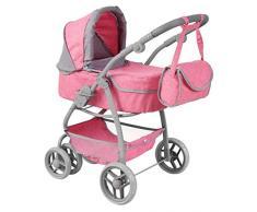 Passeggino per Bambole Rosa Smoby 251307 Colore