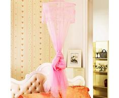 Cloud-Castle Elegante Lace Curtain Dome Letto Letto a baldacchino principessa reticolato baldacchino zanzariera per 1-1.8M letto