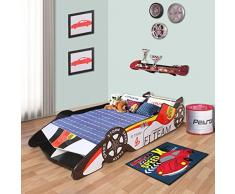 Lettino per Bambina Langria - macchina da corsa