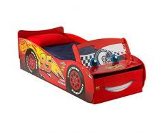 """HelloHome Disney Cars Lighting McQueen """"lettino, legno, rosso"""