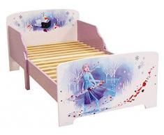 Fun House Fun Housz 713185 - Letto Disney Frozen, 140 x 70 cm, per bambini, pannello di particelle, colore: Viola