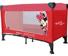 Disney Lettino da Viaggio Minnie rosso/bianco