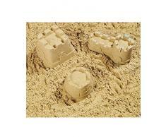 25 kg naturale gioco sabbia 0 – 2 mm Grana Sabbiera di sabbia di quarzo Sabbia Decorativa Azione Gioco Sabbia Bambini Sabbia Certificato TÜV Top qualità mescola EBT gewaschen privo di sostanze nocive