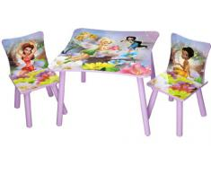 Delta Children - Disney Fairies, Set tavolo e sedie