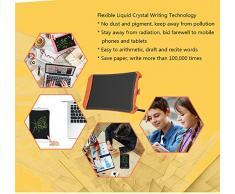 docooler Scrittura da 8,5 pollici per tablet LCD Scrittura elettronica Doodle Pad Tavolo da disegno Regali per bambini Scrivania da ufficio con serratura a pulsante