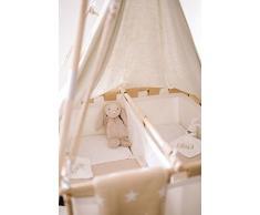 Culla gemellare | EUR 299,- a www.hussh-cradles.com | Per dormirci giorno e notte | abbiamo tutti in mente | da 0 a 9 mesi | sostenibile | ergonomica | sicura & sana | niente reflusso