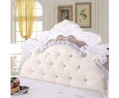 CX-PILLOW stile coreano principessa comodino letto grande cuscino dello schienale cuscino doppio Moda cuscino bello ( Colore : #5 , dimensioni : 2.0M )