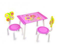 """Small Foot Company 5370 - Set di tavolino e sedie per bambini """"Leonor"""""""