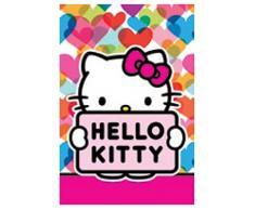 Asciugamano per bambini di Hello Kitty, 40 x 60 cm, colorato