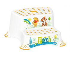 5 set z winnie the pooh bianco: xxl bagno accessorio wc + bambini pentola sgabello due fasi secchio pannolino