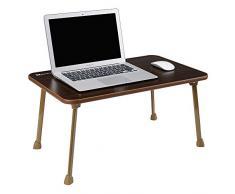 Tavolo da campeggio all'aperto, titolare grande vassoio letto NNEWVANTE Laptop Desk giro scrivania pieghevole portatile in piedi lettura colazione vassoio per gli studenti a terra il caffè Bambini Boy Color
