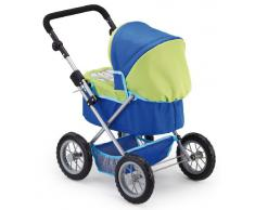 Bayer Design 13044 - Passeggino per bambole Trendy blu/verde