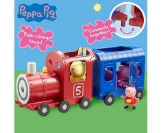 Tm Toys 6152 Peppa Pig Treno e Vagone Giocattolo Signora Coniglio