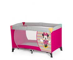 Hauck 601297 Dream'N Play Minnie Geo Lettino da Campeggio Pieghevole, Rosa