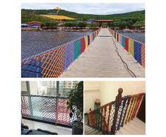 Rete per balcone scala Rete decorativa Rete anticaduta per balcone Rete di isolamento Rete di trasporto Per la ferrovia ringhiera balcone scale parco giochi per bambini decorazione dinterni allapert