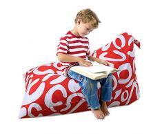 Gaeruite - Pouf per bambini, per interni ed esterni, in peluche
