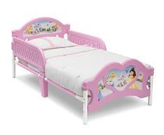 Disney - Lettino per bambina, motivo principesse Disney