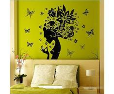 "Wall Sticker, DDLBiz® Adesivi Murales, Carta da Pareti ""farfalla"" Decorazione Murali da Parete"