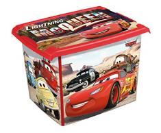 2 x scatola giocattolo giocattoli scatola Box Fashion Disney Cars 20 L