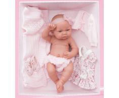 ANTONIO JUAN- Recien Nacida Nica Ajuar Bambola Realistica, Colore Rosa, AJ5073