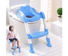 SQ Pro blu Teddie Baby training WC vasino sedile con scaletta
