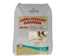 WUEFFE Sabbia Gioco Bambini certificata A.C.S. - Sacchi da kg. 25 - sabbiera Bimbi (8 Sacchi da kg.25)