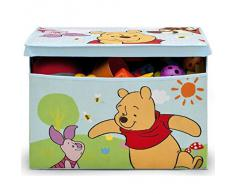 Delta Children, Contenitore portagiochi in tessuto Winnie the Pooh