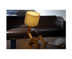 Jurassic-Light, Lampada da tavolo in legno
