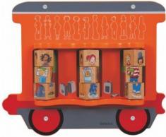 Hape 23641 - Gioco da Parete Treno/Bambini