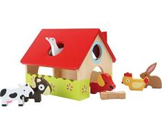 Gioco casa fattoria in legno