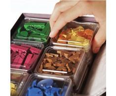 DV Giochi DVG9501 - Geekbox contenitore in plastica per custodire pedine e segnalini dei giochi da tavolo