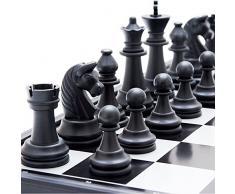 Blanketswarm Set di scacchi pieghevole magnetico gioco da tavolo portatile per i bambini Adulti 7.8 ''