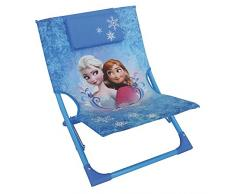 Fun House 712353Â Frozen Sdraio pieghevole per bambini acciaio blu 39Â x 46Â x 43Â cm