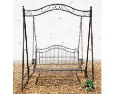 Altalena 082505 Altalena Hollywood in metallo Altalena da giardino in ferro battuto