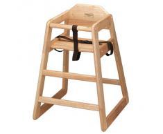 Drinkstuff - Seggiolone in vero legno, per bambini, ideale per uso domestico o commerciale