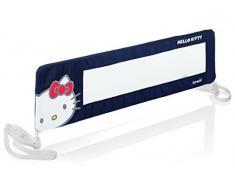 Brevi - Sponda per letto, fantasia Hello Kitty, 90 cm, colore: Blu