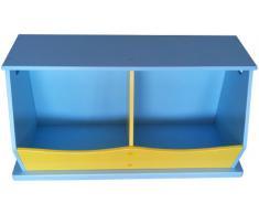 Liberty House Toys - Mensola con 2 scomparti, per bambini