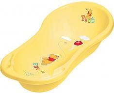 Vasca da bagno XXL 100 cm + Pentola + WC Rialzo + Sgabello + Secchio per pannolini + Dei viaggiatori Scatola Winnie Pooh giallo