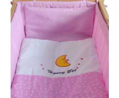 Honey Bee - Culla a dondolo, lettino e culla con rotelle insieme -- rosa -- 51365-03