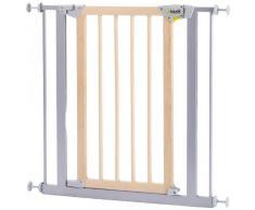 Hauck 597118 Deluxe Wood and Metal Safety Gate, Cancelletto di Sicurezza in Legno/Metallo, Bianco