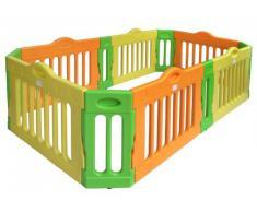 Baby Vivo Box per Bambini Sicurezza Barriera Pieghevole Recinto Plastica Parte principale Rettangolo - Estensibile - Modello 2017